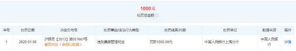 """上海磊梅贸易有限公司因""""一次性医用外科口罩""""不合格遭罚2万元"""