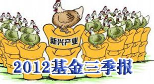 2012基金三季报