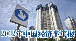 2012年中国经济半年报