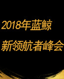"""2018年""""藍鯨財經新領航者峰會"""""""