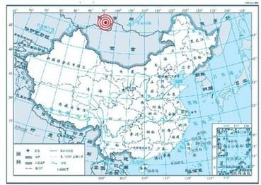 俄罗斯西伯利亚地区发生7.0级地震(图)