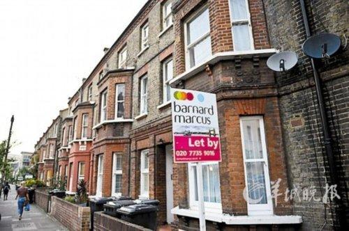 伦敦房价不断走高 多数年轻人也买不起房(图)