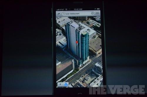 弃用谷歌 ios6自家地图支持3d全景导航