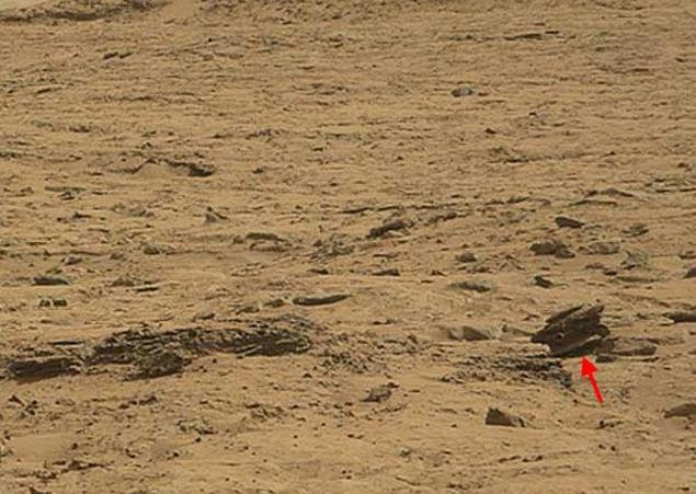 """俄罗斯《共青团真理报》网站12月19日报道,美国""""好奇""""号探测车在火星图片"""