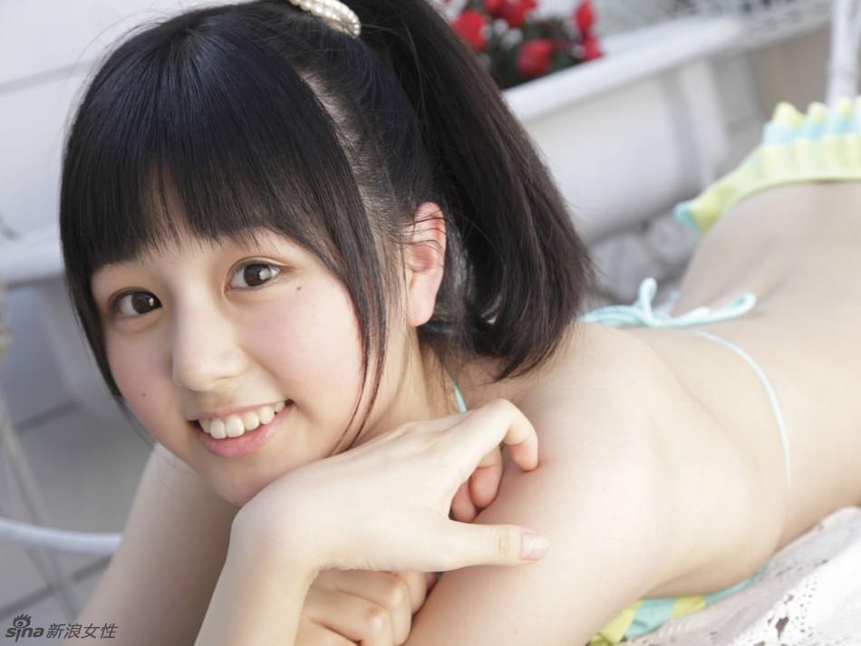 日本写真美女有哪些_日本圆脸萌妹栗田恵美粉嫩内衣写真(组图)