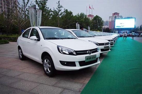 江淮纯电动汽车iev4在北京上市高清图片