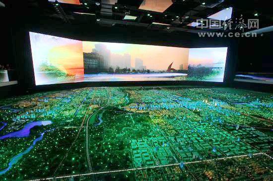 风景区科技沙盘展厅