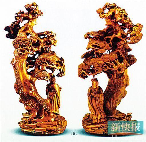 朱三松竹雕_明清名家竹雕上拍 大藏家必争拍_财经_中国网