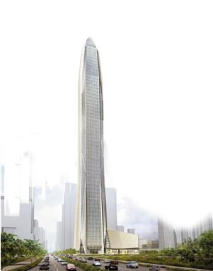 深圳新地标——平安大厦.中国平安供图
