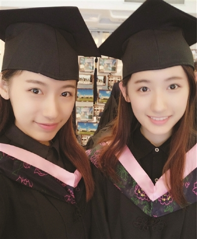 美女双胞胎同被哈佛录取 妈妈心愿:带回男朋友