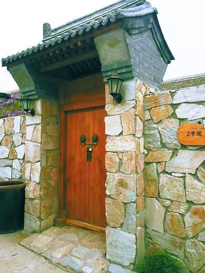 回农村修三间木结构房屋图片