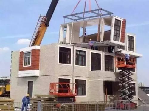 截至2015年底,全国累计建设装配式建筑面积约8000万㎡,再加上钢结构