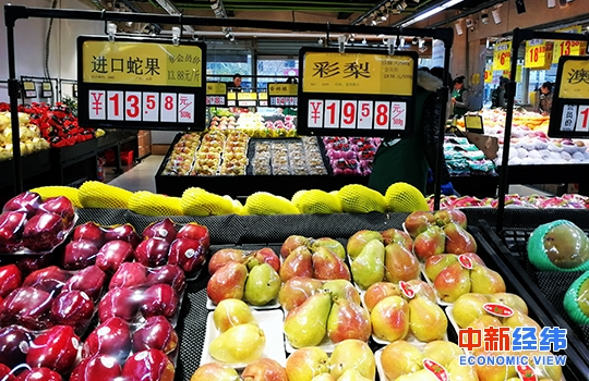 """部分水果价大幅回落!8月CPI今公布或继续处于""""2时代"""""""